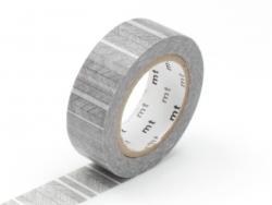 Masking tape motif - Fines rayures noires