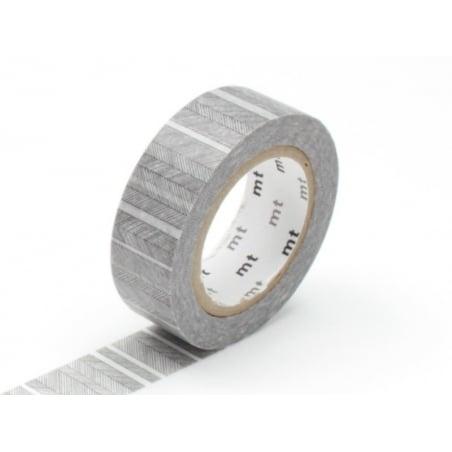 Masking tape with a pattern - Fine black stripes Masking Tape - 2