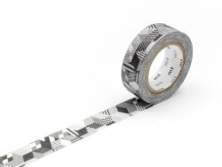 Masking tape motif - Cubes et rayures Masking Tape - 1