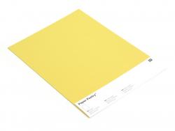 5 feuilles de papier à lettre - Jaune