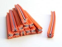 Acheter Cane papillon rouge - en pâte fimo - 0,49€ en ligne sur La Petite Epicerie - Loisirs créatifs
