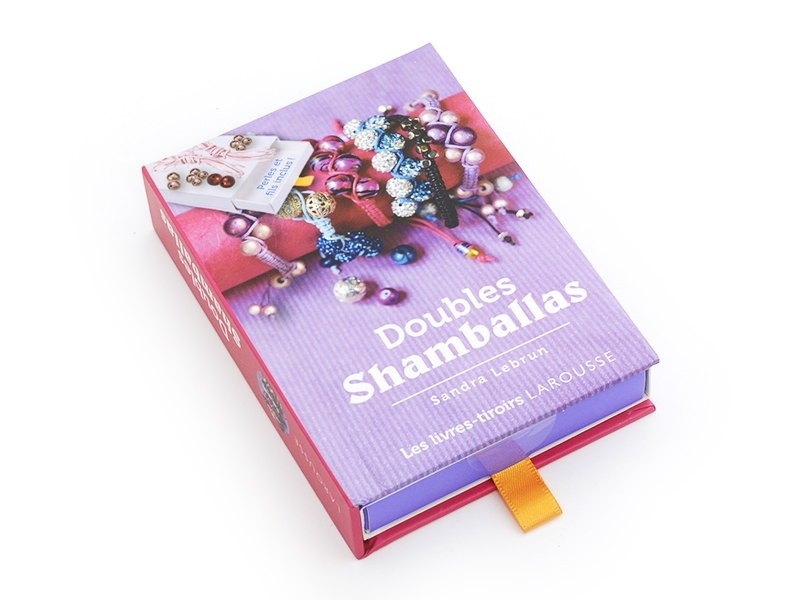 Coffret livre à tiroir - Doubles Shamballa