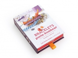 Coffret livre à tiroir - Bracelets Porte-Bonheur Larousse - 1