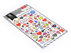 """Various """"Heart"""" stickers"""
