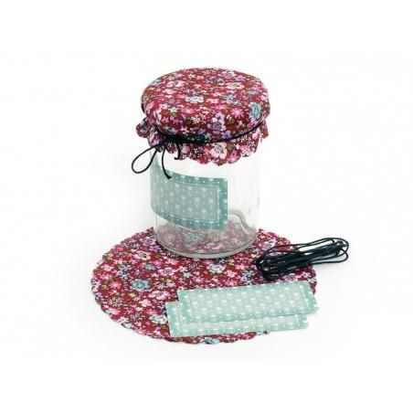 Acheter Set de déco pour pot de confiture en coton - 4,75€ en ligne sur La Petite Epicerie - 100% Loisirs créatifs
