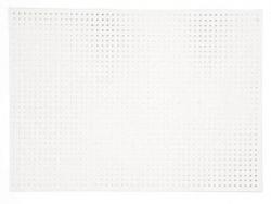 10 feuilles de carton blanc à broder
