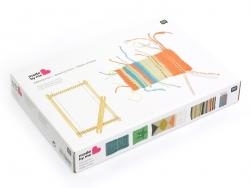 Acheter Métier à tisser la laine - petit format - 13,99€ en ligne sur La Petite Epicerie - Loisirs créatifs