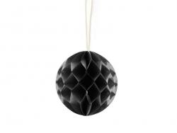 Kleiner Wabenball (5 cm) - schwarz