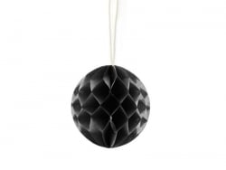 Mini boule alvéolée 5 cm - noir  - 1