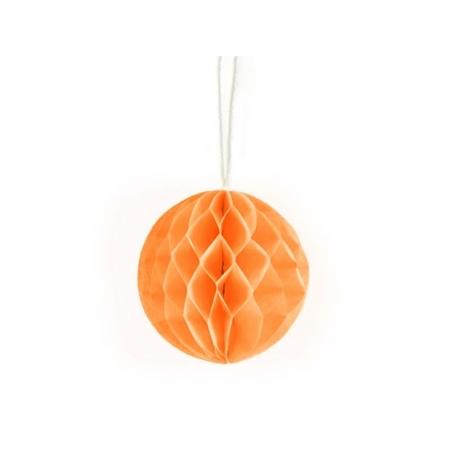 Mini boule alvéolée 5 cm - orange