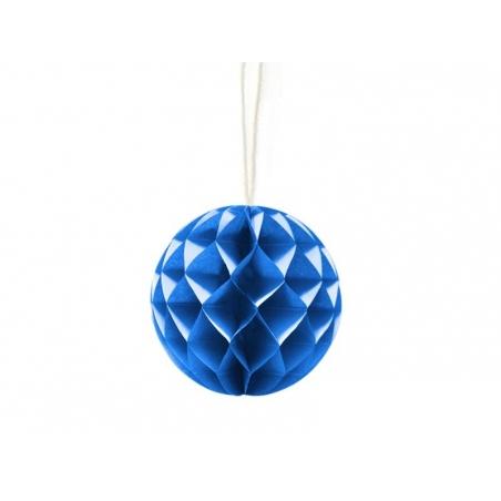 Mini boule alvéolée 5 cm - bleu royal