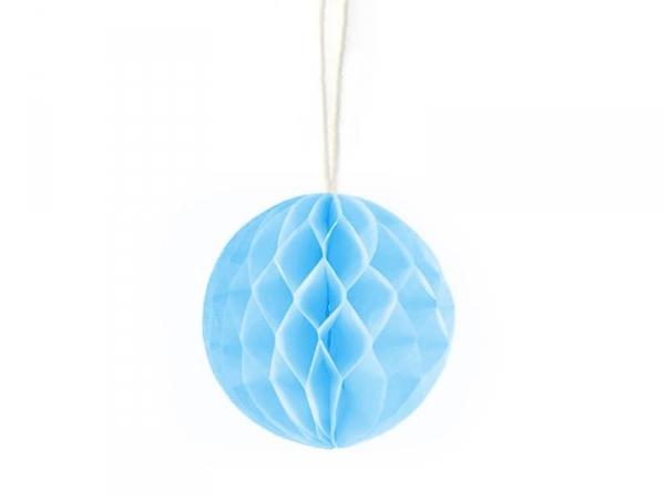 Mini boule alvéolée 5 cm - bleu clair