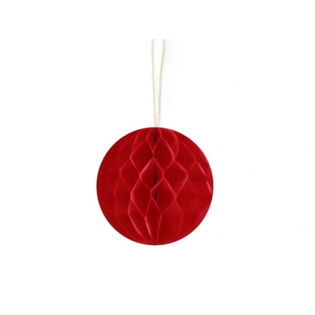 Mini honeycomb ball (5 cm) - red