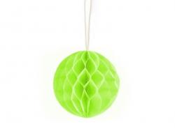 Mini boule alvéolée 5 cm - vert pomme  - 1