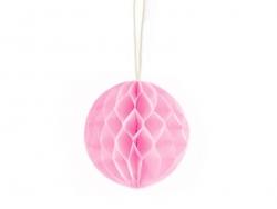 Mini boule alvéolée 5 cm - rose pétale