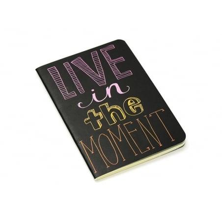 """Carnet de poche """"Citation - moment"""" 12,5 x 8,5 cm - 32 pages lignées Ooly - 1"""
