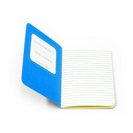 """Pocket notebook """"Quote - moment"""" (12.5 cm x 8.5 cm) - 32 ruled pages"""