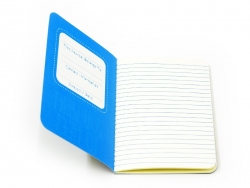 "Pocket notebook ""Quote - adventures"" (12.5 cm x 8.5 cm) - 32 ruled pages"