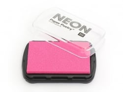 Neon pink stamp ink pad