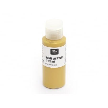 Peinture acrylique Ocre - 82 ml