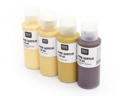 Acrylic paint (82 ml) - ochre