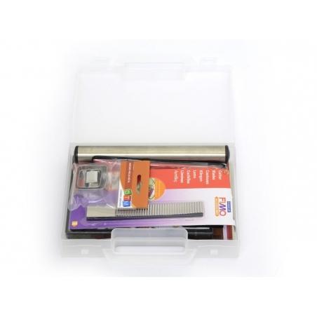 Acheter Mallette 14 outils de modelage + fiches - 32,99€ en ligne sur La Petite Epicerie - Loisirs créatifs