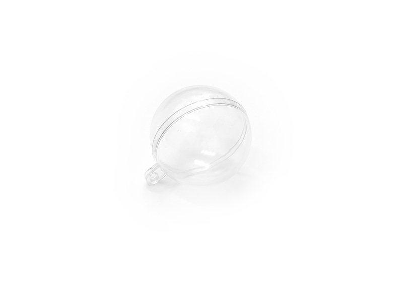 Acheter Boule plastique 4 cm à customiser - transparente - 0,99€ en ligne sur La Petite Epicerie - Loisirs créatifs