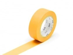 Masking tape uni - Jaune d'or