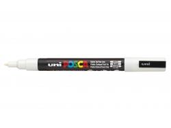 POSCA marker - fine tip (1.5 mm) - white