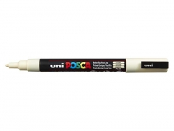 POSCA marker - fine tip (1.5 mm) - ivory