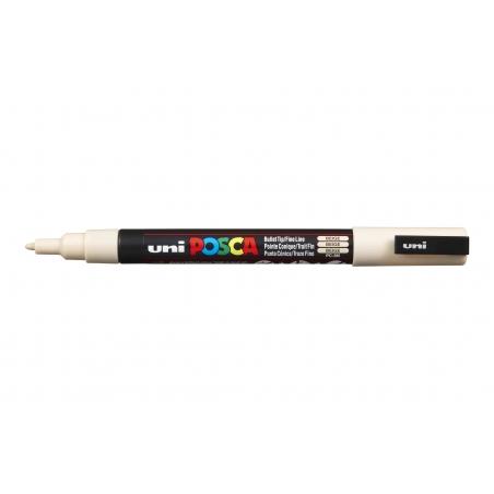 Acheter Marqueur posca - pointe fine 1,5 mm - Beige - 3,75€ en ligne sur La Petite Epicerie - Loisirs créatifs