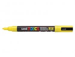 Marqueur posca - pointe fine 1,5 mm - Jaune