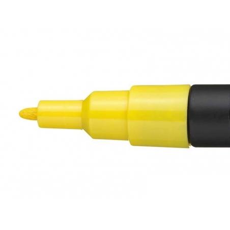Acheter Marqueur posca - pointe fine 1,5 mm - Jaune - 3,70€ en ligne sur La Petite Epicerie - Loisirs créatifs
