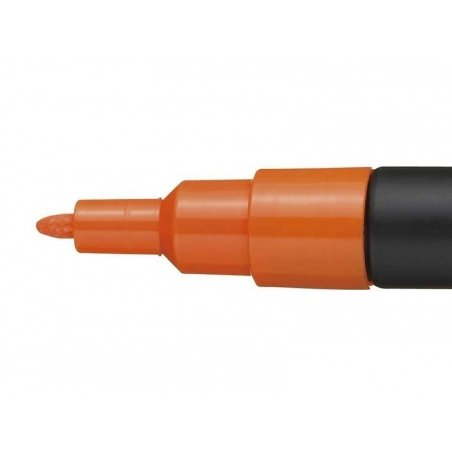POSCA marker - fine tip (1.5 mm) - dark orange