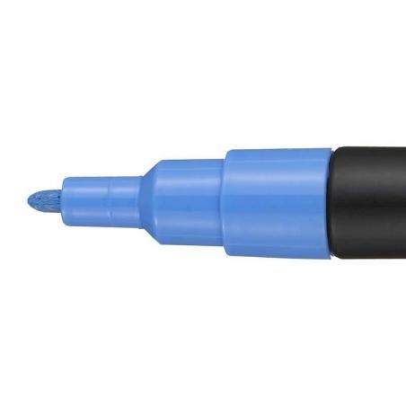 Marqueur posca - pointe fine 1,5 mm - Bleu Ciel