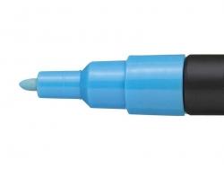 Marqueur posca - pointe fine 1,5 mm - Bleu Clair
