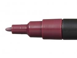 Marqueur posca - pointe fine 1,5 mm - Lie de vin