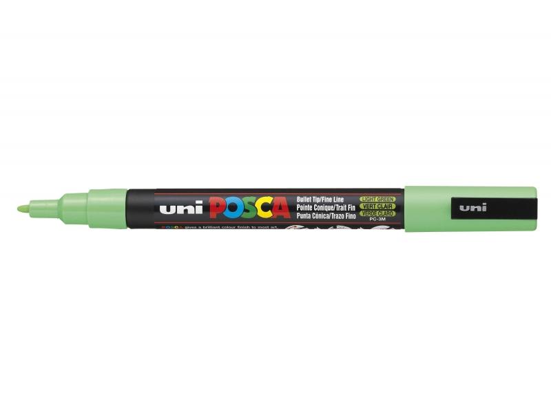POSCA marker - fine tip (1.5 mm) - light green