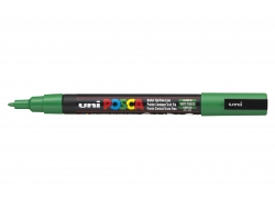 POSCA marker - fine tip (1.5 mm) - dark green