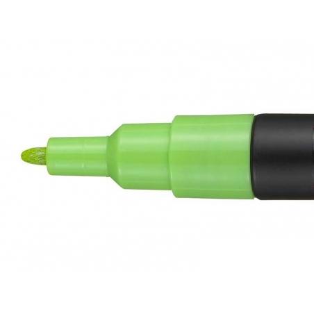 Marqueur posca - pointe fine 1,5 mm - vert pomme