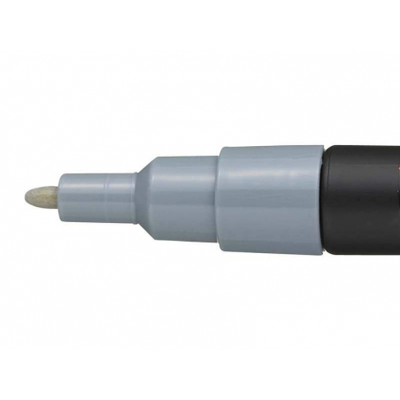 POSCA marker - fine tip (1.5 mm) - grey