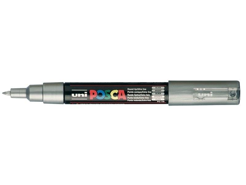 Acheter Marqueur posca - pointe fine 1,5 mm - Argenté - 3,75€ en ligne sur La Petite Epicerie - Loisirs créatifs