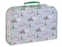 3-teiliges Kofferset - Paris / Schiffe / Elefanten - Fifi Mandirac