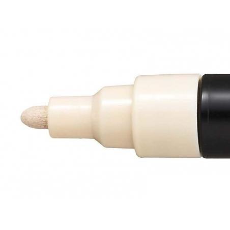 Marqueur posca - pointe moyenne 2,5 mm - Beige