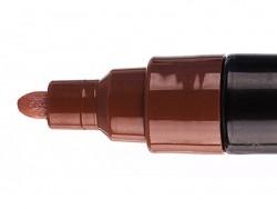 Marqueur posca - pointe moyenne 2,5 mm - Marron