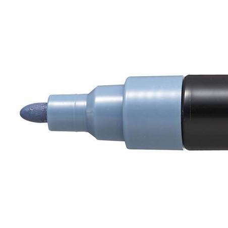 Marqueur posca - pointe moyenne 2,5 mm - Gris ardoise