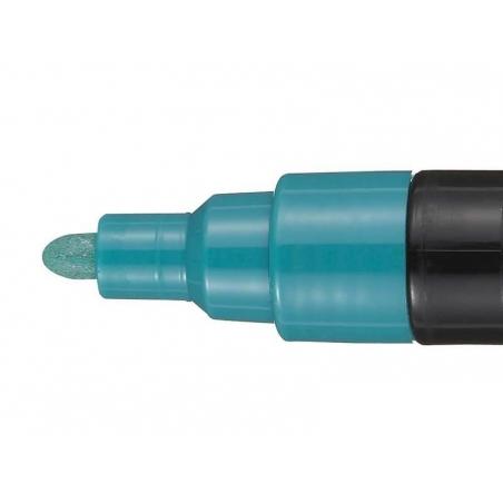 Acheter Marqueur posca - pointe moyenne 2,5 mm - Vert métal - 4,20€ en ligne sur La Petite Epicerie - 100% Loisirs créatifs