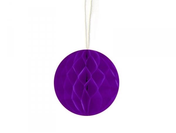 Mini honeycomb ball (5 cm) - dark violet