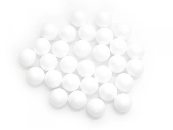 Acheter Lot de 30 boules polystyrène 2 cm - blanc - 1,99€ en ligne sur La Petite Epicerie - 100% Loisirs créatifs