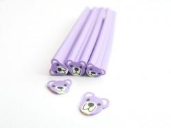 Cane nounours violet
